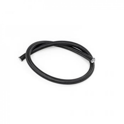 DeatschWerks 10AN Black Nylon Braided PTFE Hose, 3 feet