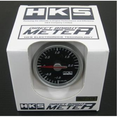 "HKS ""60 Direct Bright Meter Boost (""4/2.0m Hose)"