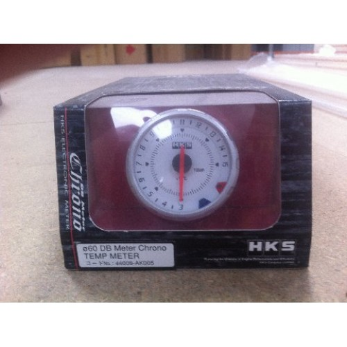 HKS  Meter DB Chrono 60mm Temp W/B