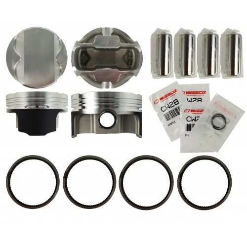 WisecoPistonKit 86.00mm Vauxhall Astra and Vectra 2.0L 16v